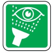 Safe Safety Sign - Emergency Eye Wash 001